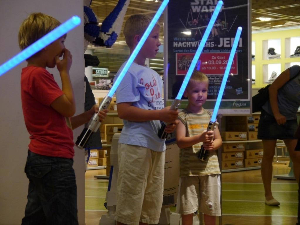 Hasbro und Saberproject auf Deutschlandtour – 2011