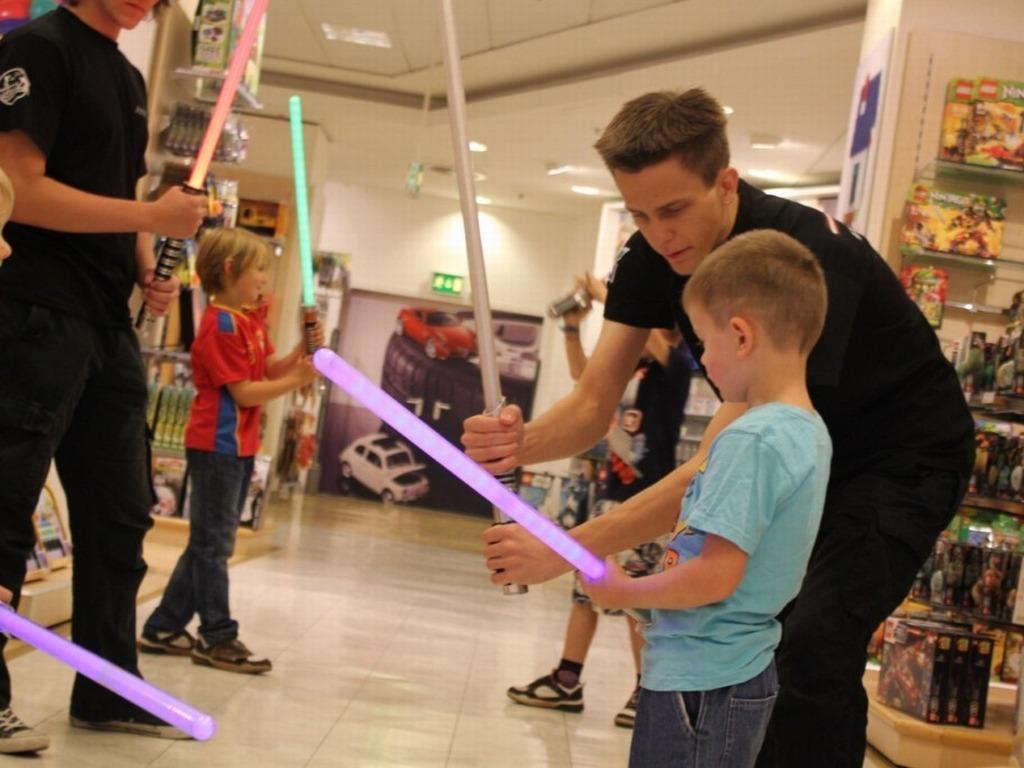 Hasbro und Saberproject auf Deutschlandtour – 2012