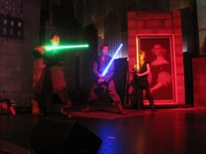 Saberproject im Moviepark – 2011