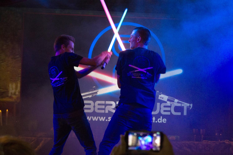 Lichtschwert-Duelle sind ein Sport!